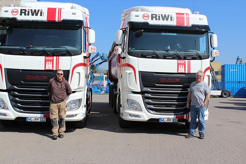 RiWi GmbH - LKWs mit 2 Fahrern