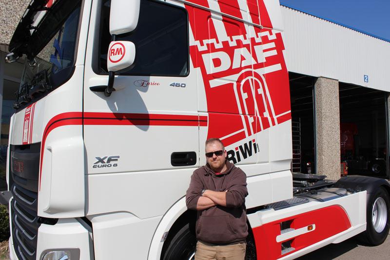 RiWi GmbH LKW mit Fahrer